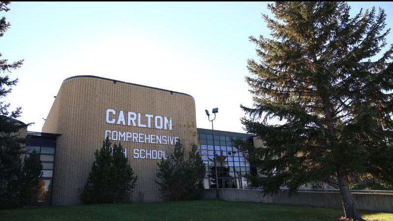 Positive COVID-19 case at Carlton Comprehensive Public High School