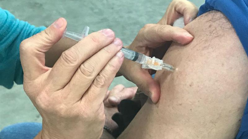 National Influenza Vaccination Week kickoff