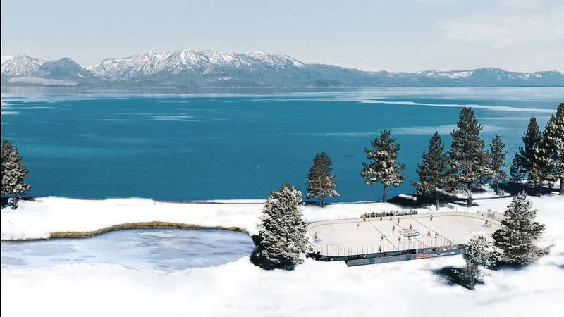 National Hockey League  holding two outdoor games at Lake Tahoe in February
