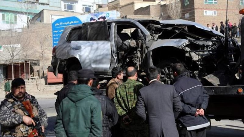 Gunmen have shot dead two female Afghan judges in morning Kabul attack