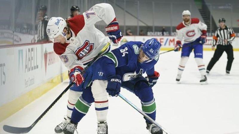 Canadiens Crush Canucks in BC