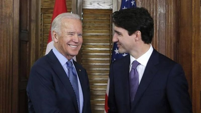 Biden Welcomes Canada's Trudeau (Virtually) To White House For 1st Meeting
