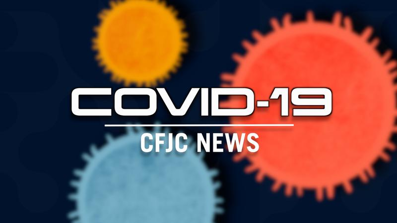 Dozen new COVID cases reported over weekend