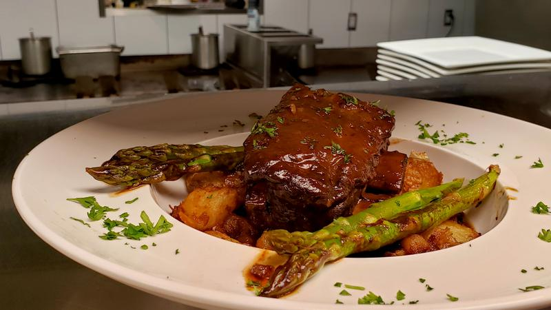 Signature Dish: Ricky's 24-hour Braised Short Ribs