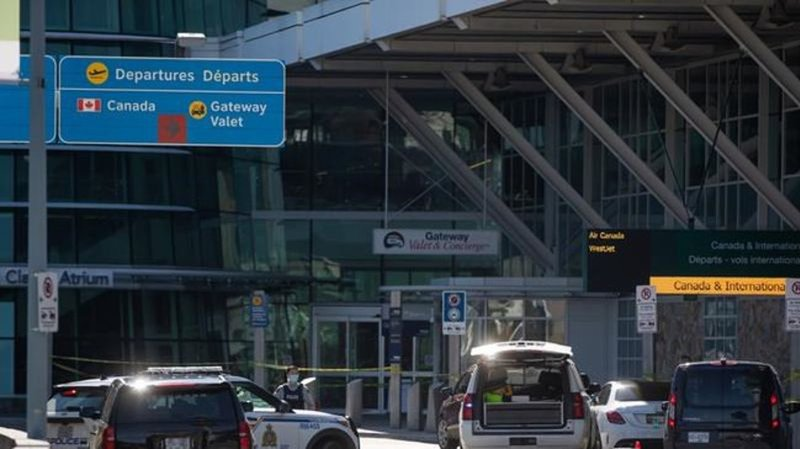 One man dead after shooting at Vancouver International Airport