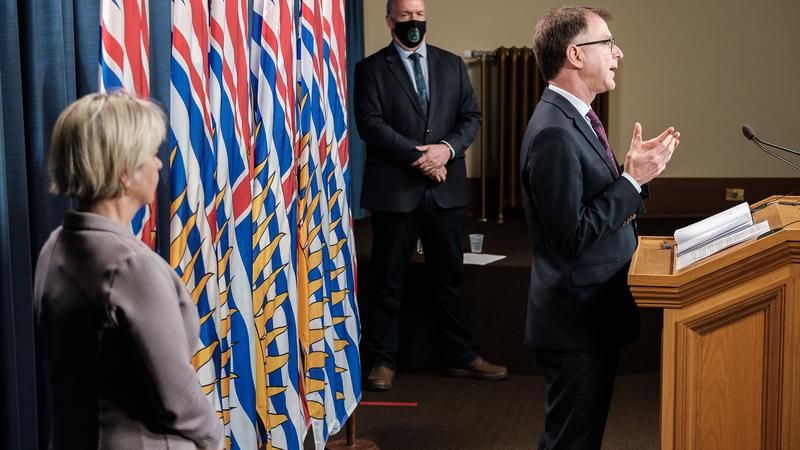 BC officials announce province's reopening plan