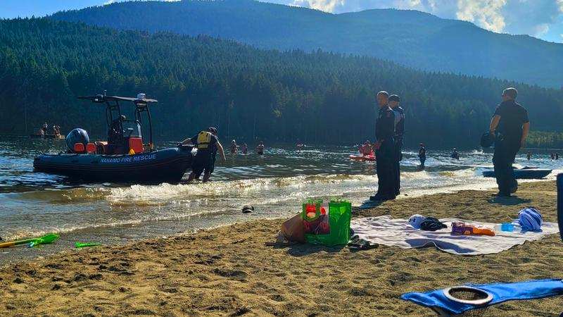 Nothing found after report of dead body at Westwood Lake