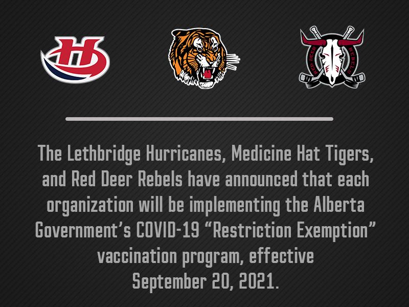 Lethbridge Hurricanes to implement 'Restrictions Exemption Program'