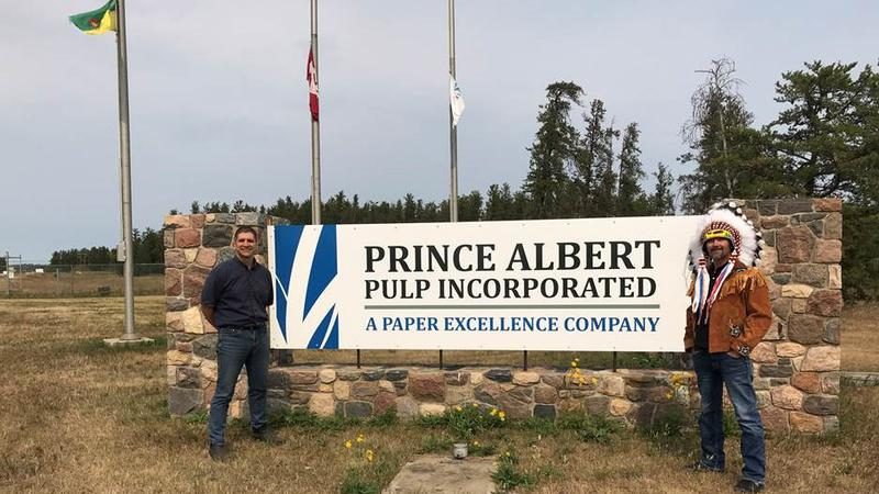 More good news for future restart of the Prince Albert pulp mill