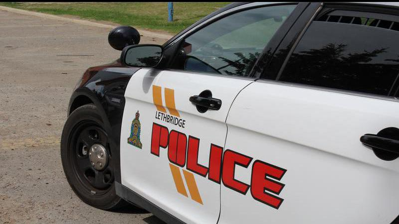 Driver airlifted to Calgary hospital following collision in Lethbridge