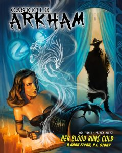 Arkham Her Blood Cover