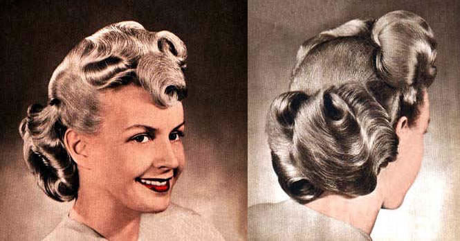 Admirable 1000 Images About Vintage Hairstyles On Pinterest Snood 1940S Short Hairstyles Gunalazisus