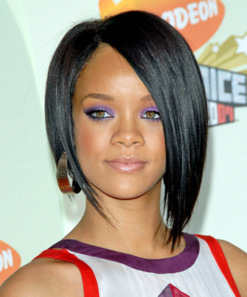 Women's Hairstyles - Concave Bob - Rihanna