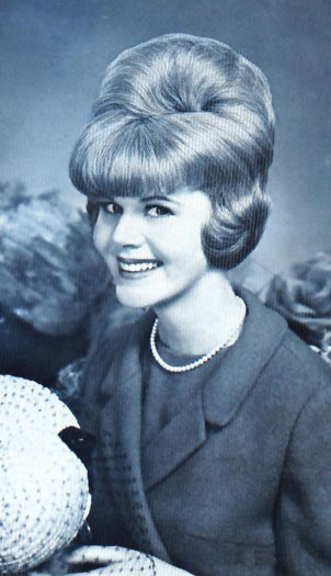 1960's Hairstyles - Bouffant