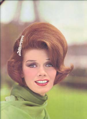 1960's Hairstyles - French Coiffure