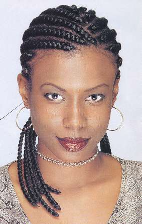 Women's Hairstyles - Cornrows