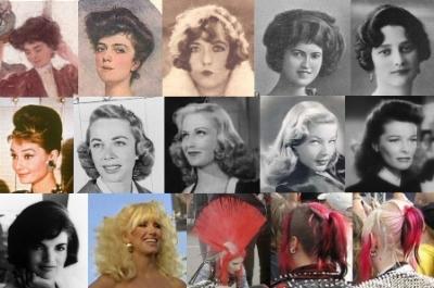 Terrific Hair Styles Of The Last 100 Years Social Serendip Short Hairstyles For Black Women Fulllsitofus