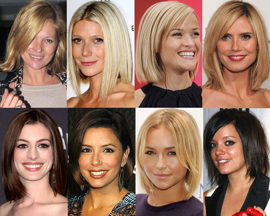 Women's Hairstyles - Bobs