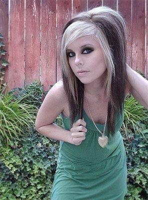 2000's Hairstyles - Emo - Scene Girl