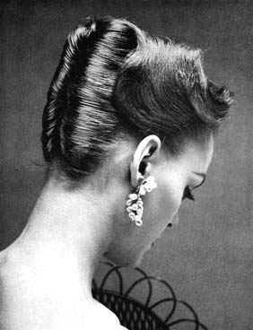 1950's Hairstyles - French Twist