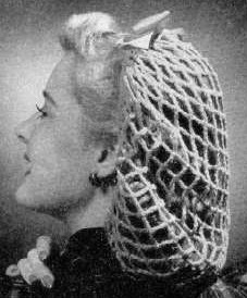 1940's Hairstyle - Snood