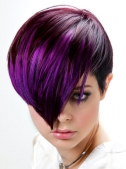 Women's Hairstyles - Bold Colors