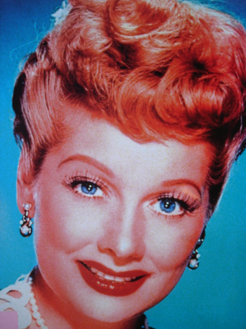 1940's Hairstyle - Lucile Ball