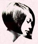 1960's Hairstyles - Inverted Bob
