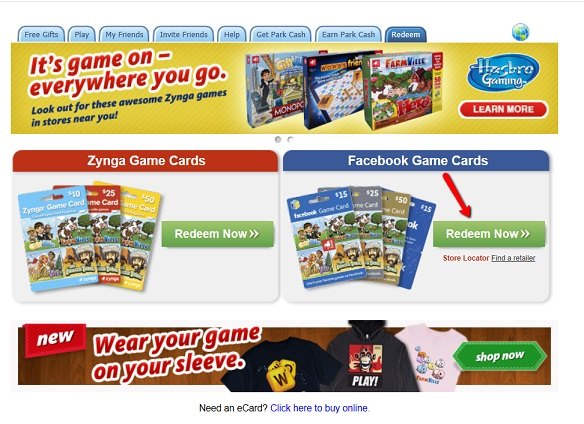 Zynga Game Card 80% off for $50 (World Wide) – SALE