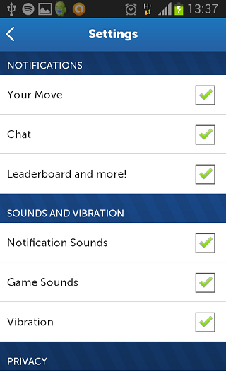 Words with friends matchmaking