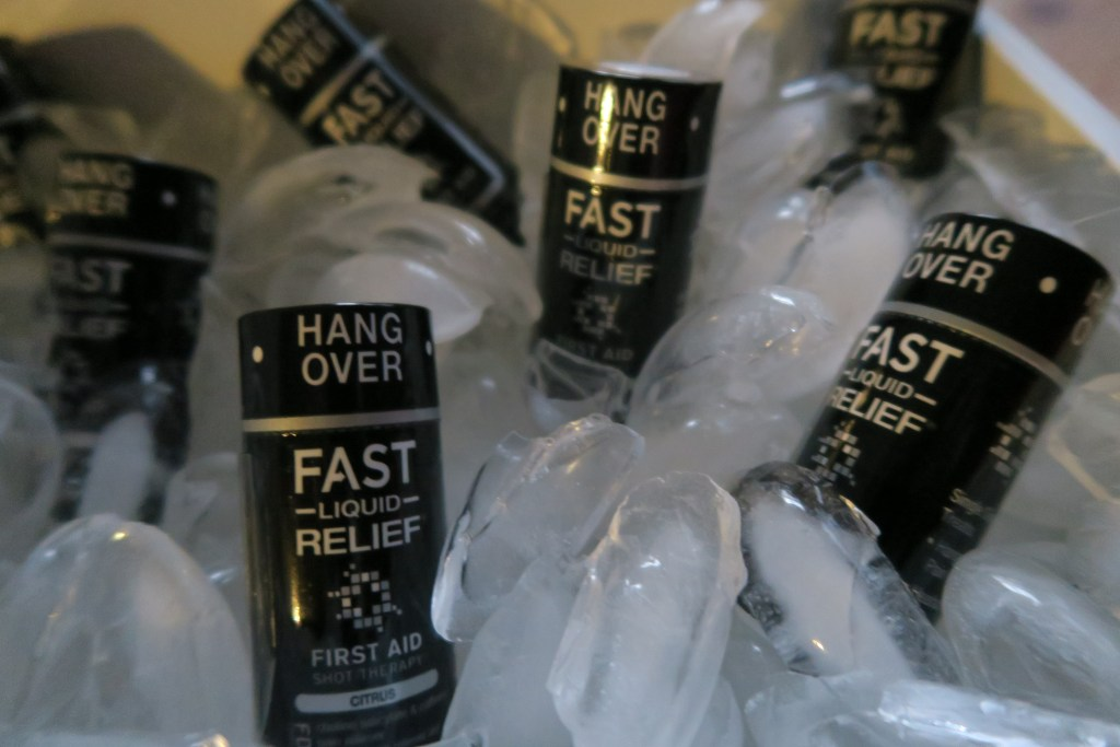 Our work with First Aid Shot Therapy - FAST Hangover