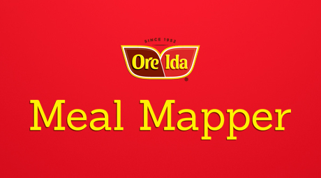 Our work with HEINZ / ORE-IDA - Meal Mapper