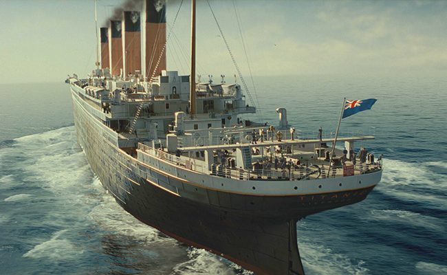 Our work with PARAMOUNT PICTURES - titanic