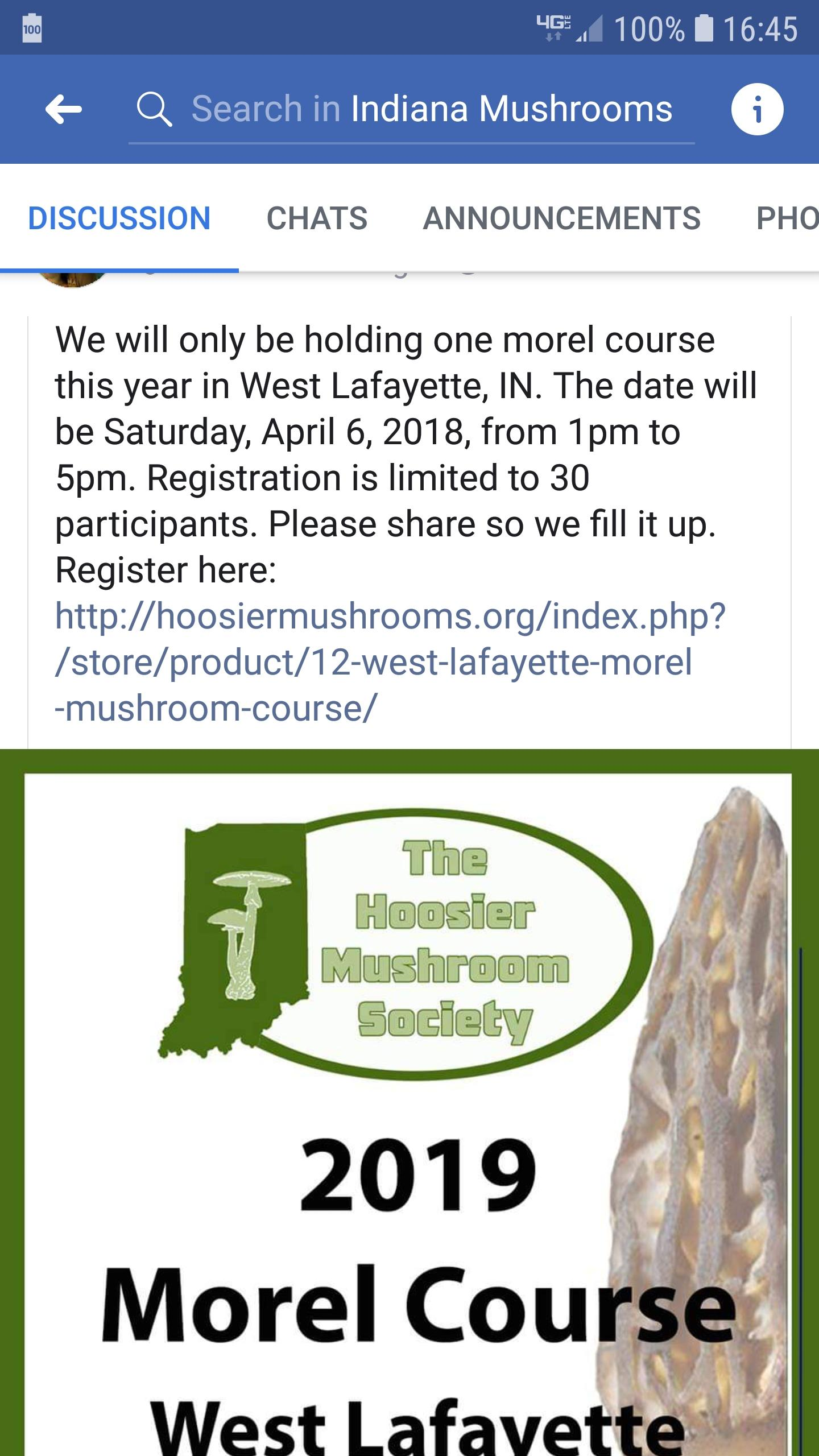 Morel course - Identification Discussion - The Hoosier Mushroom Society