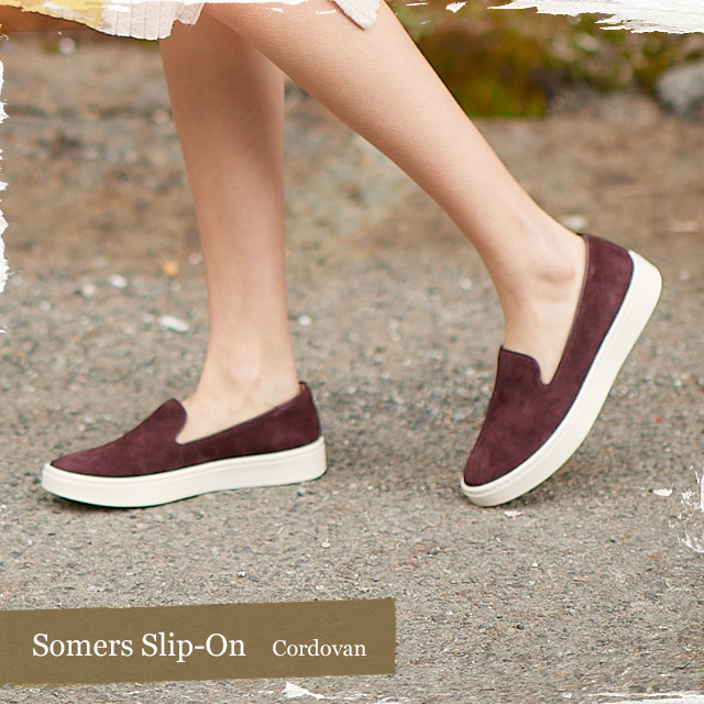 Featured style: Somers Slip-On in Cordovan. Shop the Somers Slip-On