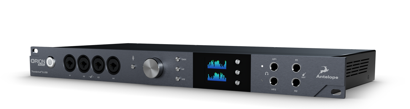 Orion Studio Rev2017Thunderbolt ™ and USB Studio Interface
