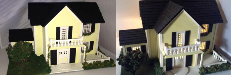 Adding Light to a Dollhouse
