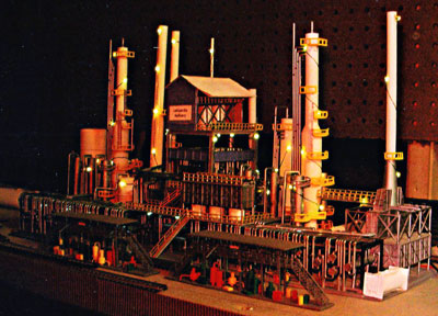 O scale refinery LEDs