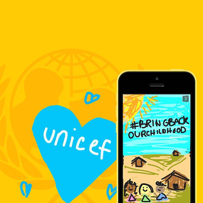 UNICEF Snapchat Campaign