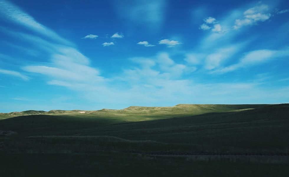 green fields of South Dakota