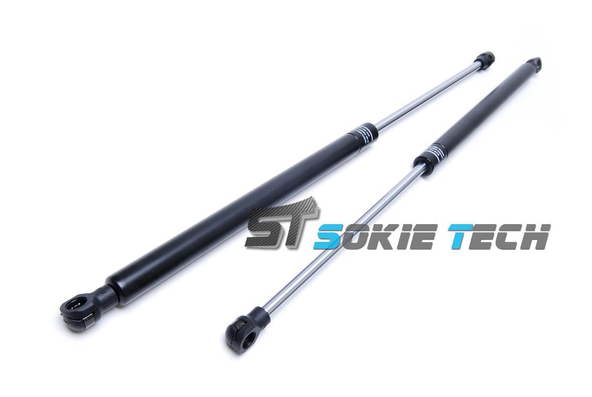 black strut gas lift trunk shock damper kit for nissan x trail suv t31 08 13 701160250297 ebay. Black Bedroom Furniture Sets. Home Design Ideas