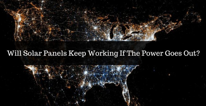 Solar Backup Power Will My Solar Panels Work In A Grid Blackout Solar Com