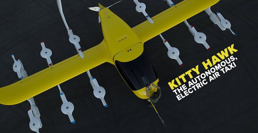 Kitty Hawk S Cora An Autonomous Completely Electric Air