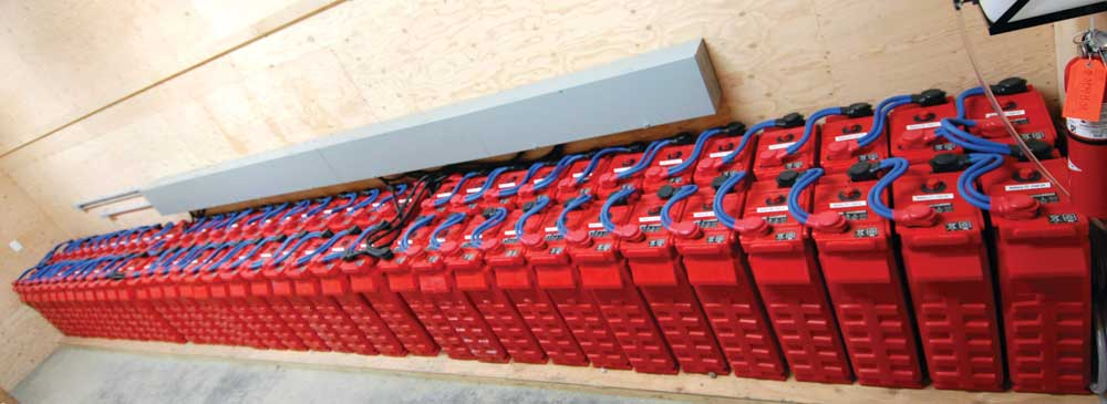 1 Lead Surrette battery