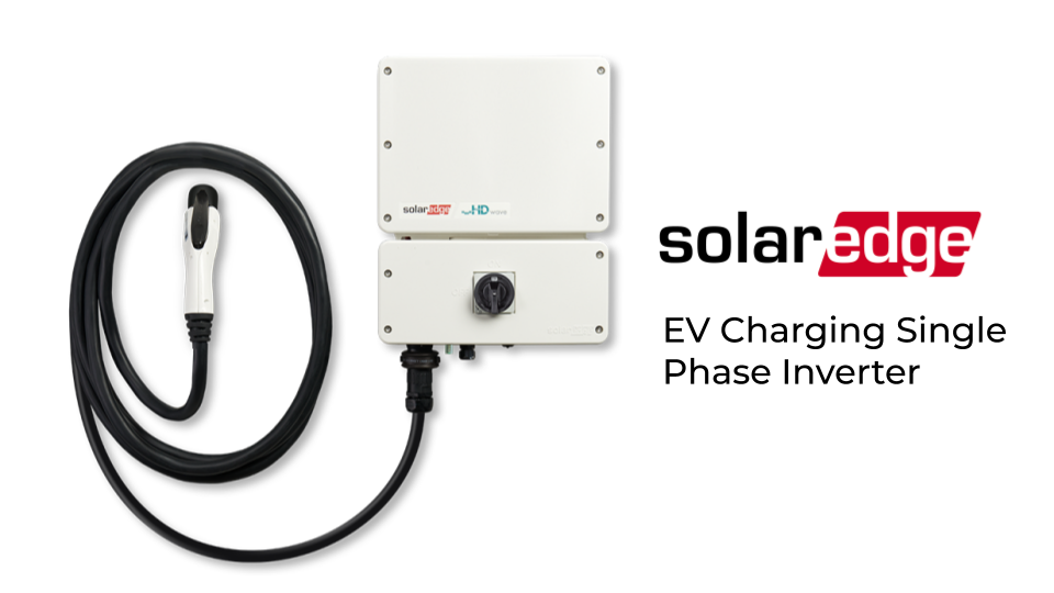 SolarEdge EV Charger and Inverter
