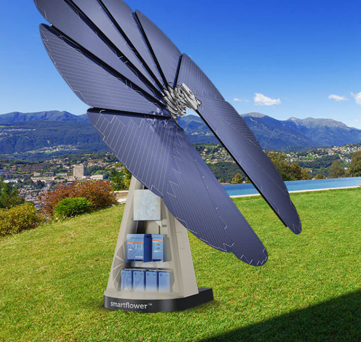 SmartFlower Solar and Battery