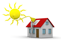 Residential electricity from the sun