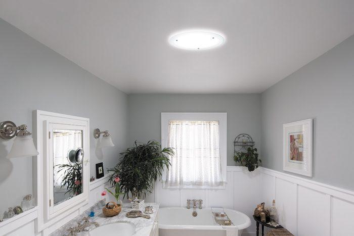 Bathroom with Solatube