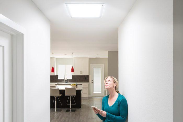 Hallway Bright Lighting