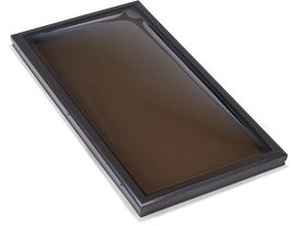 Double Dome Bronze Acrylic Skylight
